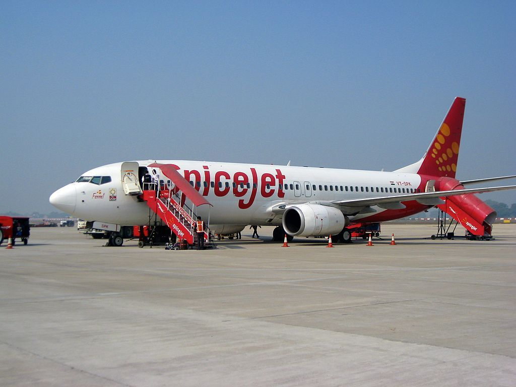 SpiceJet new delivery